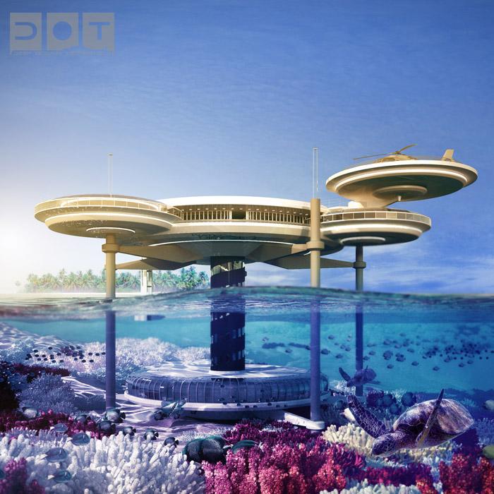 بناء فندق تحت الماء في دبي – اكثر من